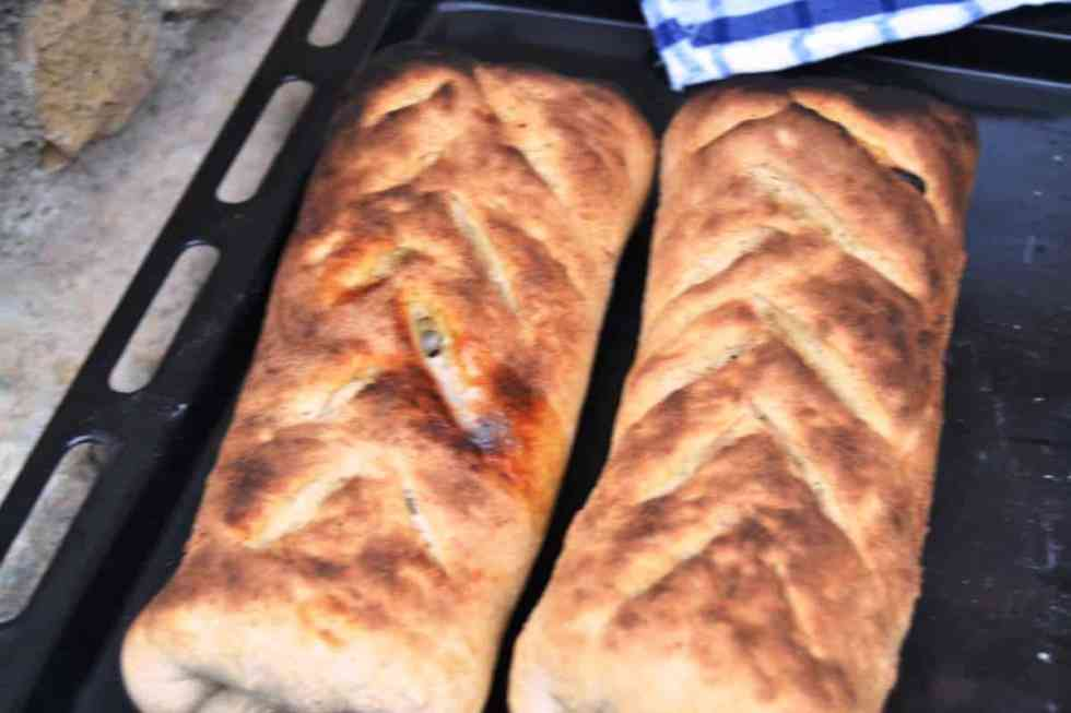 Fougasse mit Roquefort