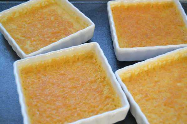 Zutaten Creme brulee mit Zimt und Vanille
