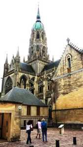 Die Kathedrale von Bayeux Normandie Region Calvados