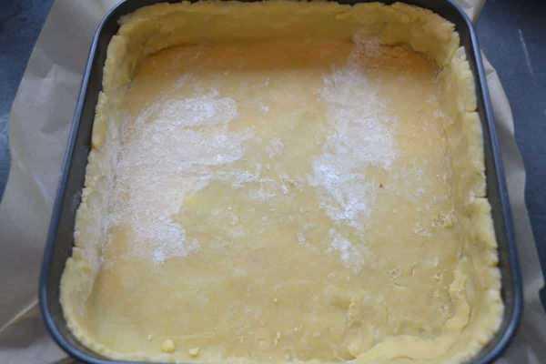 Tarte - Buttermürbeteig salzig