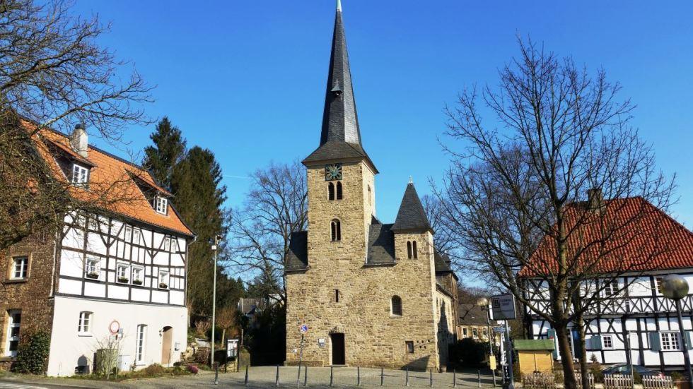 Die westfälische Dorfkirche in Wengern