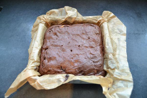 Brownies gebacken
