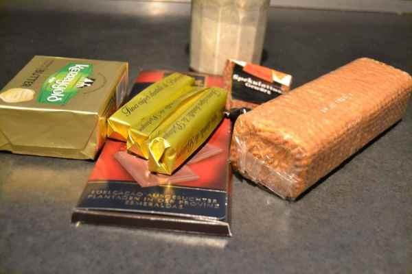Butter , Spekulatius ,Gewürz ,Schokolade