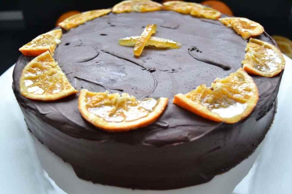 Orangen-Mandelkuchen