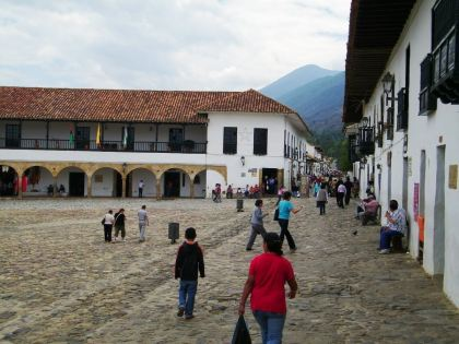 Kolumbien Villa de Leyva Colombia Plaza Mayor,