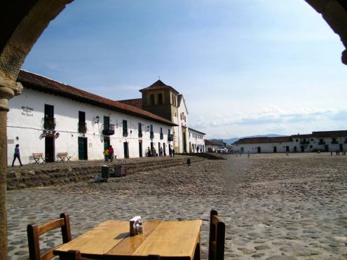 Kolumbien Reisebericht Villa de Leyva -Colombia Plaza Mayor