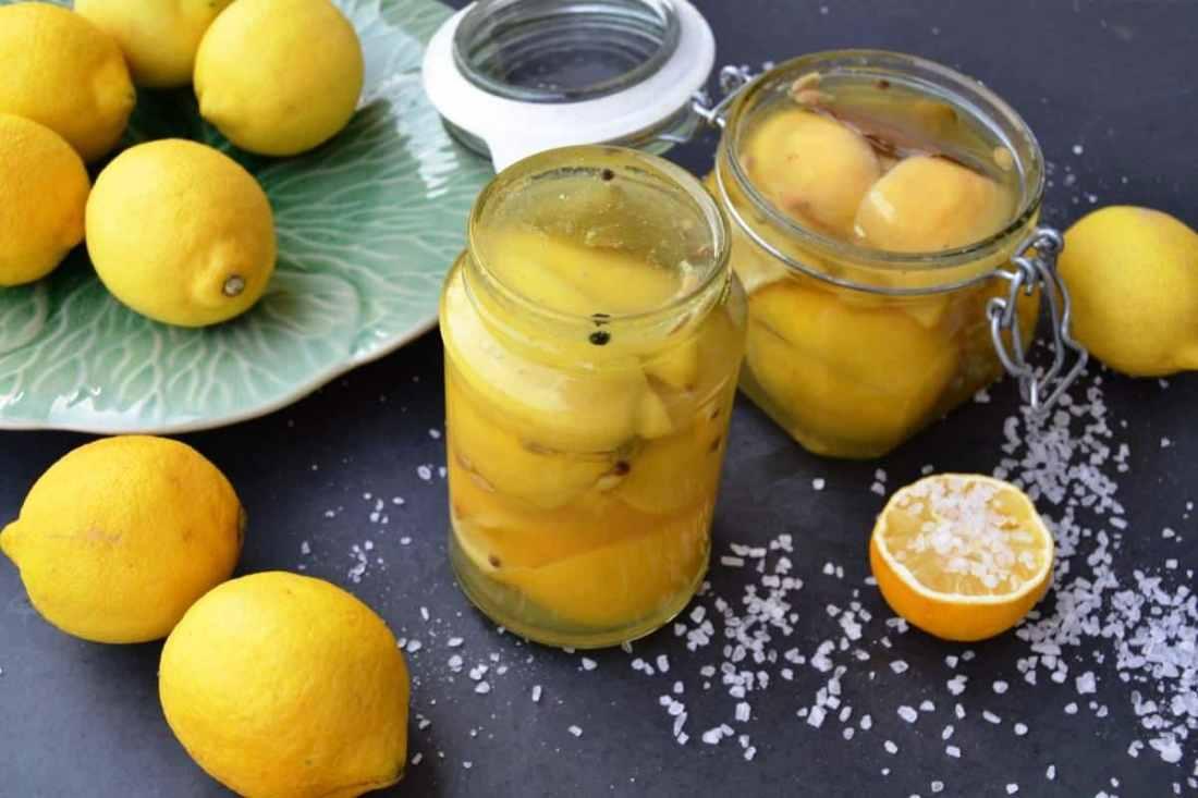 eingelegte Zitronen Salzzitronen