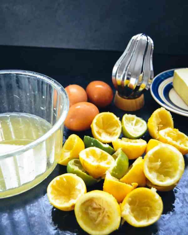 Lemon Curd -Zitronencreme