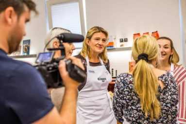 Rezeptbesprechung auf dem Bloggerday Food professionals