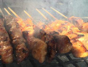 【道の駅あぐり窪川】新田米を食べて育った米豚の「豚串」が激ウマ!