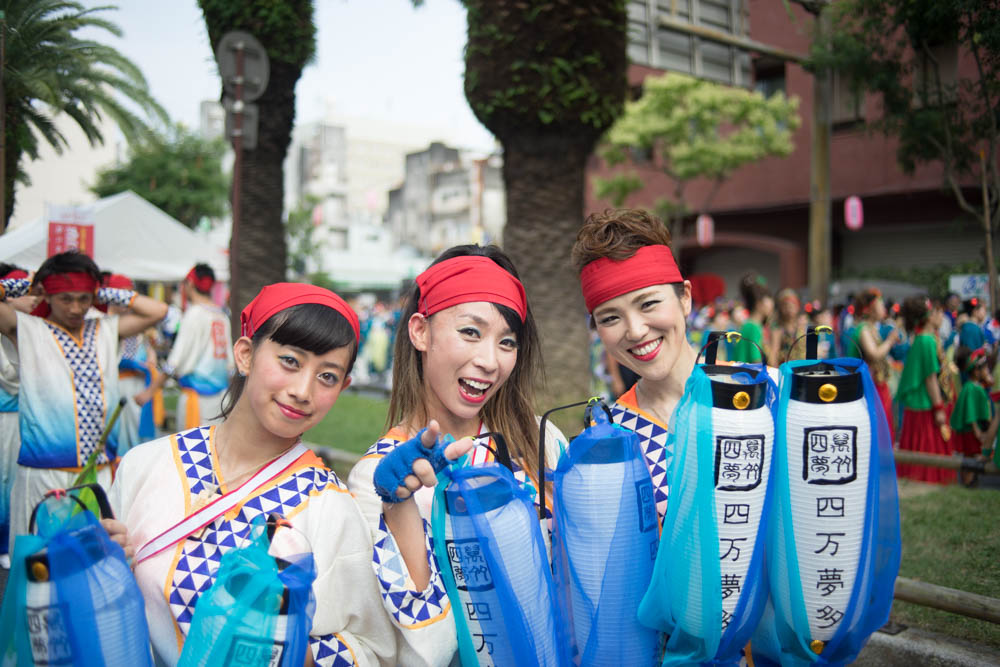 【写真コラム】往年のライカで撮るよさこい鳴子祭り2015