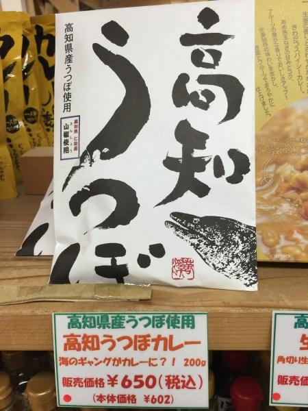 高知県産うつぼカレーを食べてみた