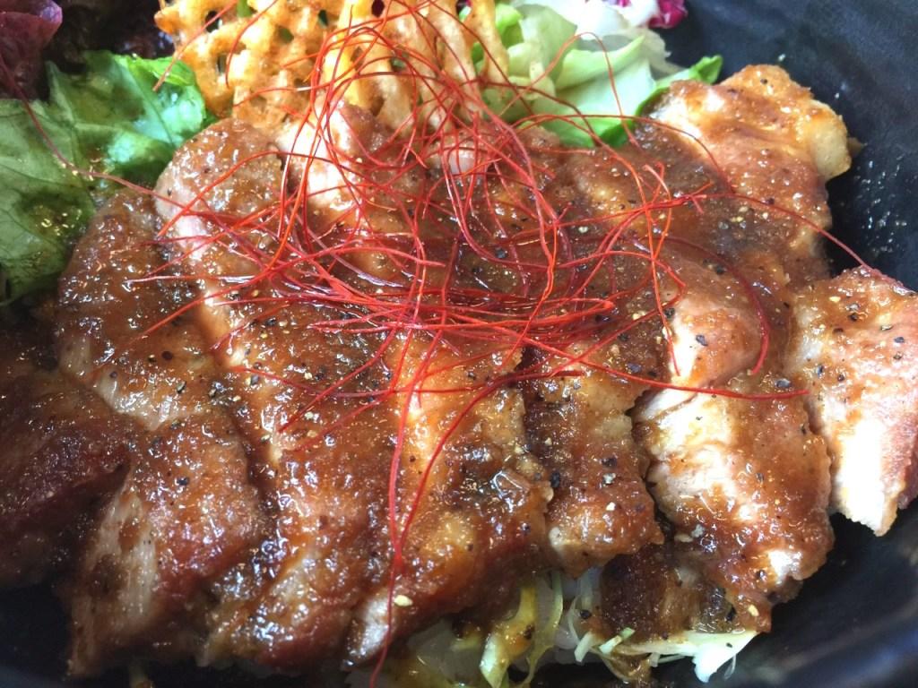 【洋食堂 cafe ケルン】洋食屋さんの絶品ポーク丼!! 【四万十ポークどんぶり街道】