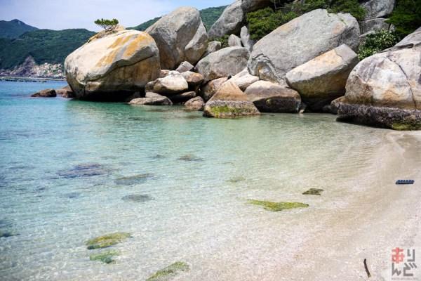 【行き方の案内付き】海が超絶綺麗な柏島隠れスポット!入江のビーチが最高ですよ!