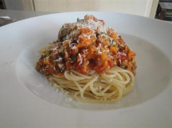 Klassisch mit Spaghetti