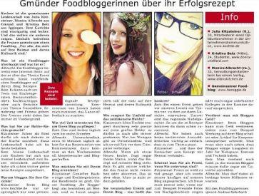 Gmünder Wochenpost, April 2015