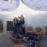 Drei Engel für Stuttgart: Die Mädels haben das Event super organisiert