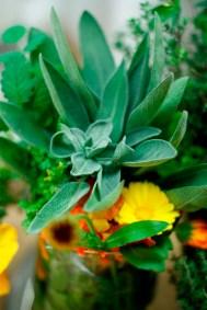 Kräuter, essbare Blüten - Hier kann man richtig kreativ sein bei der Deko!