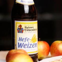 Weizen ist milder als andere Biersorten und deshalb gut zum Kochen geeignet.