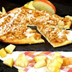 02 Vegane Apfel-Strudel Pizza
