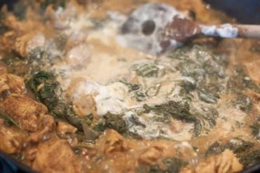 Indisches Spinat-Hähnchen mit Vollkornbasmati 5