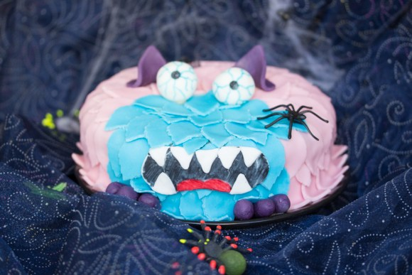 Fondanttorte Monster 1