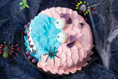 Fondanttorte Monster 3