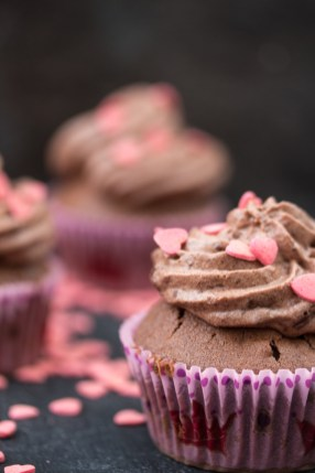 Mousse au Chocolat Cupcakes 9