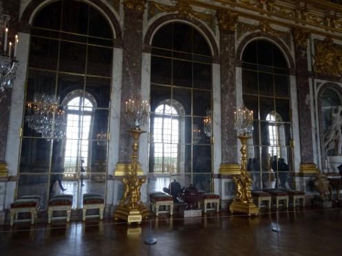 Der Spiegelsaal kommt auf meinem Foto leider nicht so eindrucksvoll rüber, wie er wirklich war.