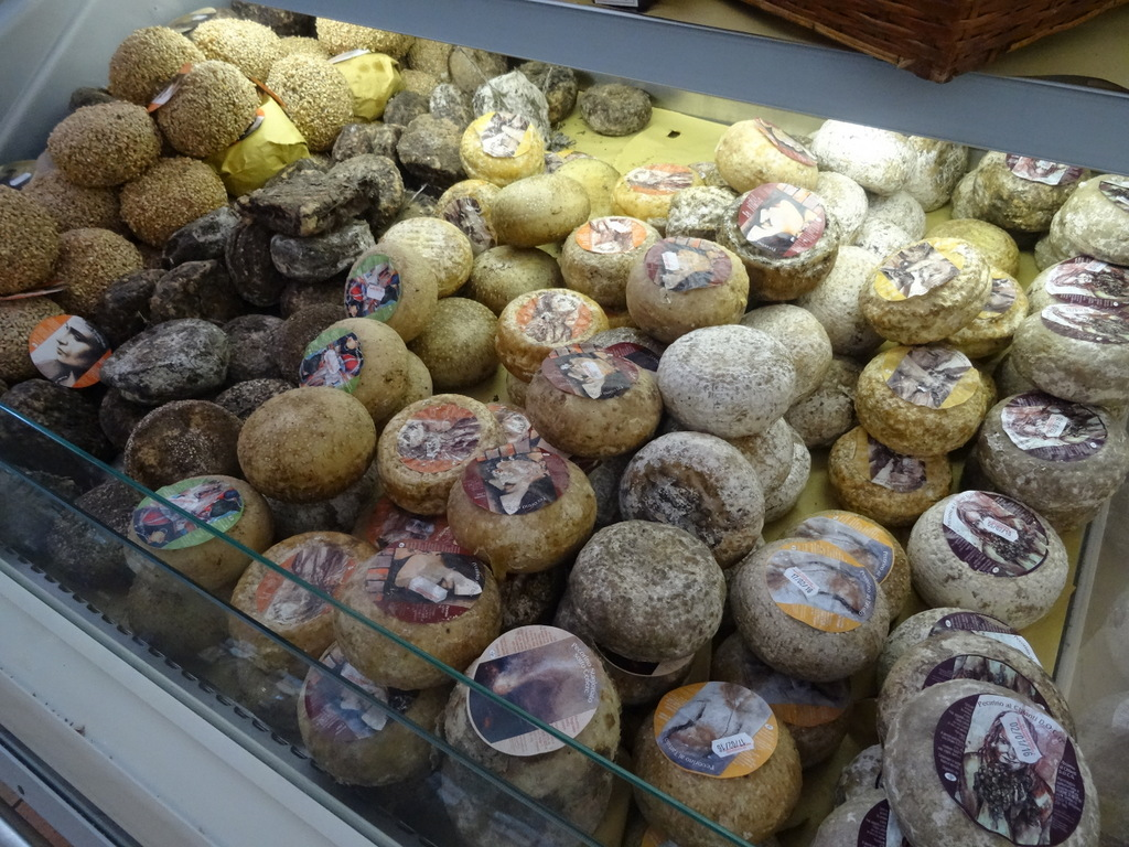 noch mehr Käse! Besonders der Trüffel ist super!