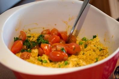 Bulgur Hähnchen Salat 4
