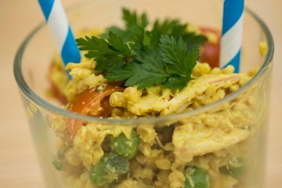 Bulgur Hähnchen Salat 8