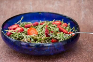 Rucola Erdbeer Salat 3