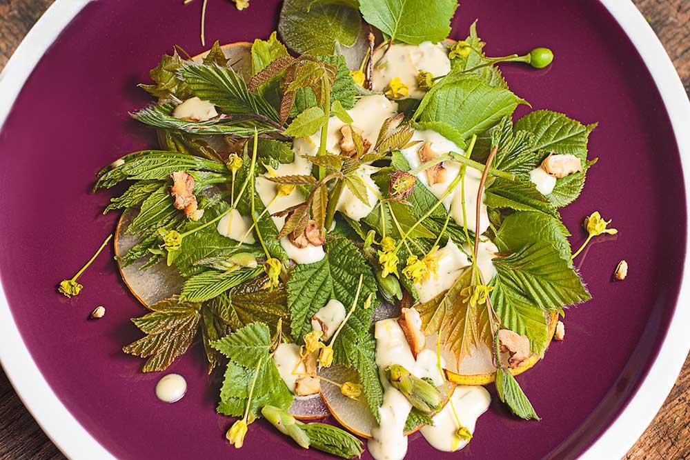 Baumblätter-Salat