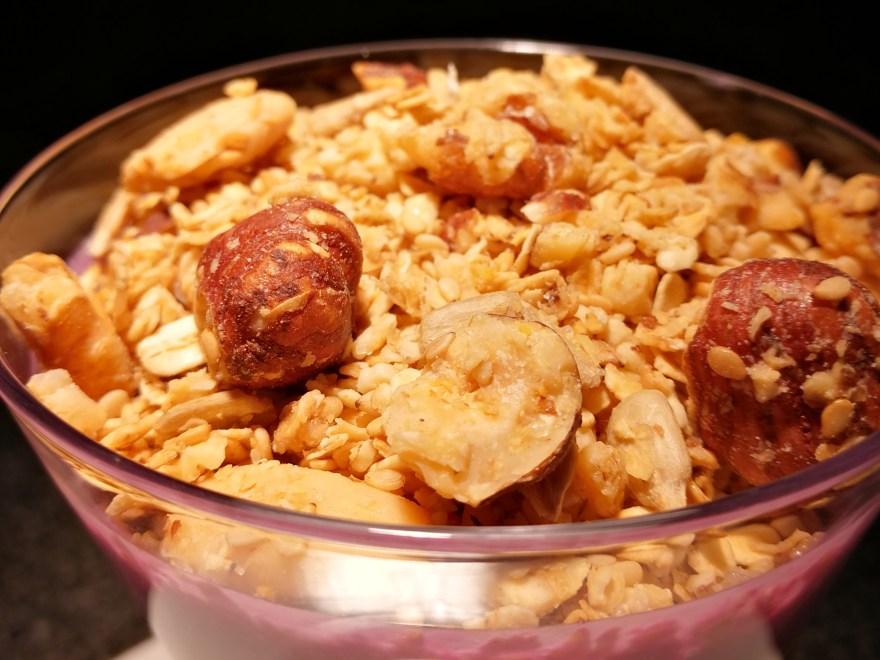 Granola / Amerikanisches Knuspermüsli mit der i Prep & Cook