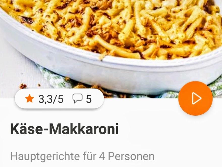 Käse Makkaroni mit der i Prep & Cook Hp 6051 von Krups