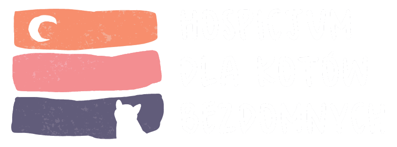 Przezroczyste logo Kociego Hospicjum.