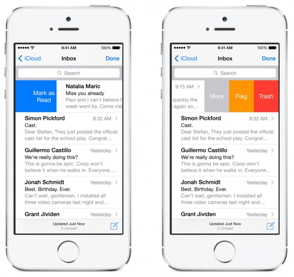 ios 8 email