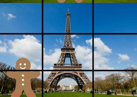 Règle des tiers Photo Paris