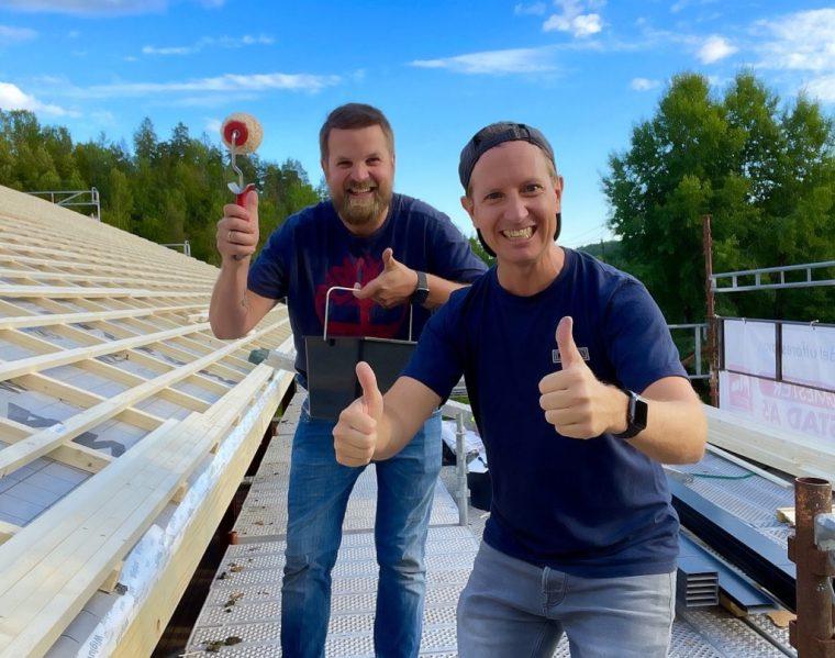 Siden februar har den nye lederduoen Bjørnar Gaasholt (t.v) og Frode Aleksander Rismyhr dundret i gang. Nå skjer det mye på en gang – i høyt tempo.