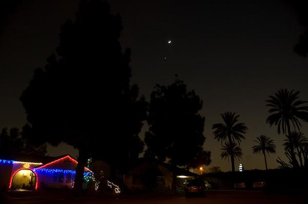 Moon & Venus  - 31 Dec. 2008