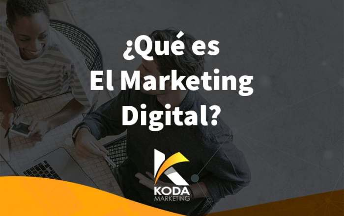 marketing digital agencia madrid
