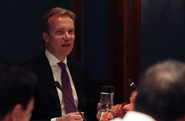 Royal Norwegian Government's Minister of Foreign Affairs Borge Brende.