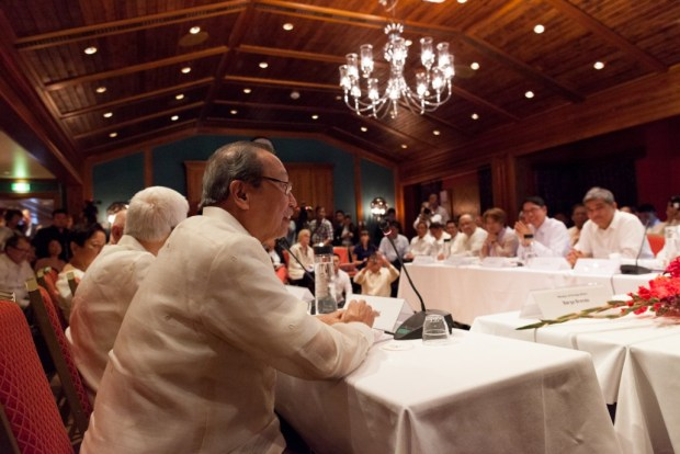 Opening ceremony of the GRP-NDFP formal peace negotiations.
