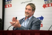 """""""Unhackable"""" John McAfee Crypto Wallet is Hacked Within a Week"""