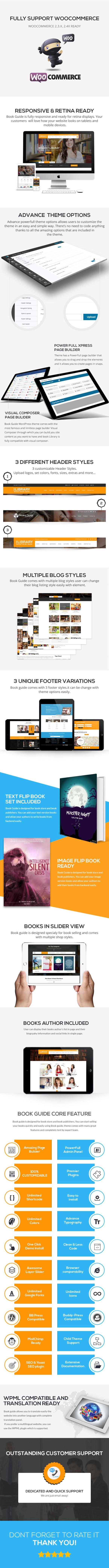Book Guide WordPress WooCommerce Theme