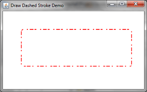 Draw Dashed Stroke Demo