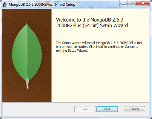 Welcome to MongoDB Setup