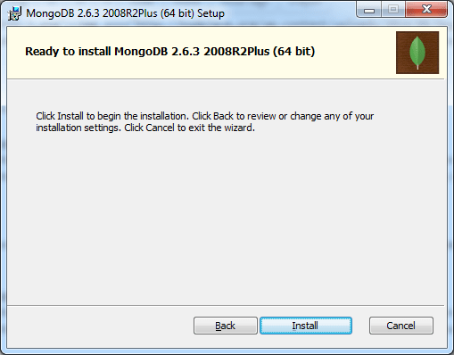 Ready To Install MongoDB