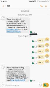 Cara Daftar Paket Sms Indosat : daftar, paket, indosat, Internet, Marketing: